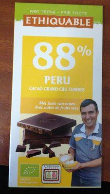 Chocolat 88% Peru - Product