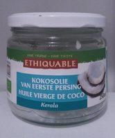 Huile vierge de coco - Produit