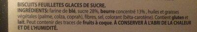 Mini coeur - Ingrédients