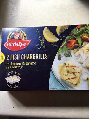 2 Fish Chargrills lemon & thyme - Product - en