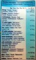 Rice Dream Cuisine - Nutrition facts - fr