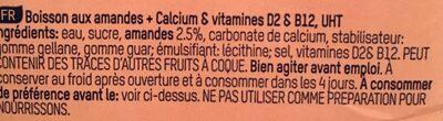 Almond Dream, Mandel - Ingrediënten