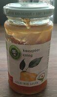 Confiture bio au coing - Product - nl