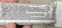 QNT Easy Body High Protein Nutrition Bar (24 x . .. - Nutrition facts - fr