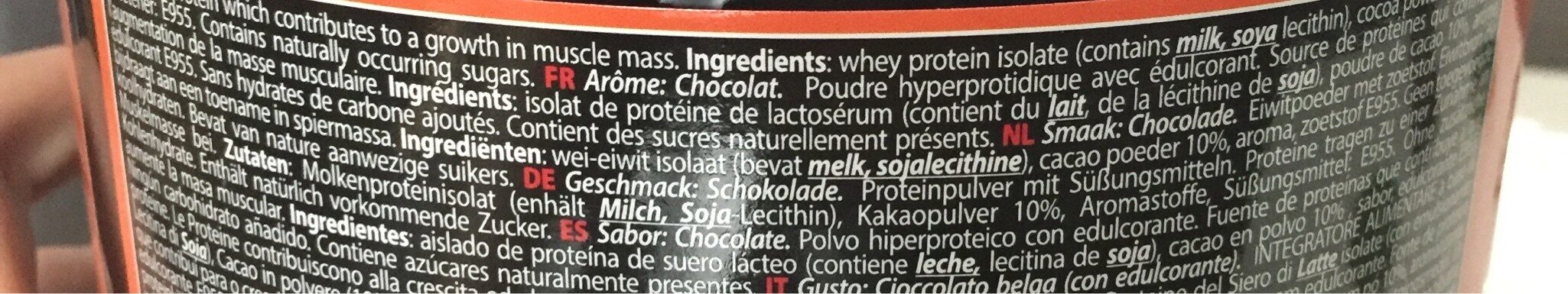 metapure - Ingrediënten - fr