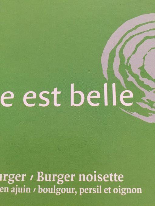 Hazelnootburger - Producto
