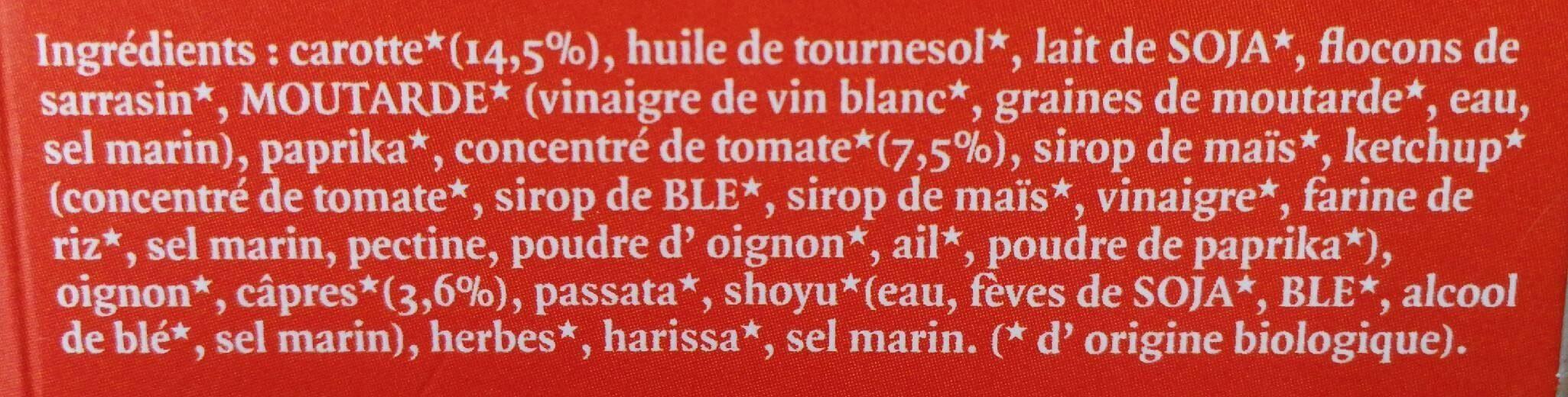 Tartin'o Original - Ingredients - fr