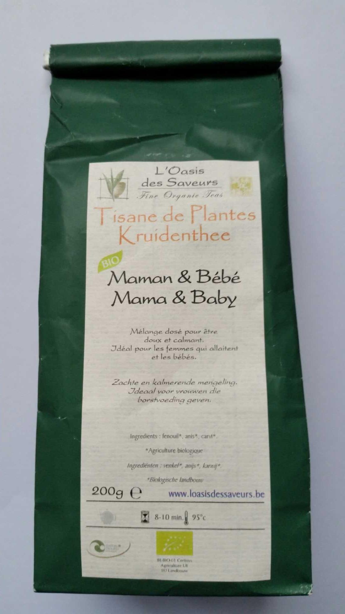 Tisane de plantes Maman & Bébé - Ingredients