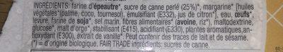 Gaufre Liégeoise à l'Épeautre - Ingrédients - fr