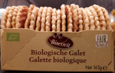 Biscovit Galette biologique - Produit