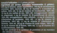 Kératine complex forme - Ingredients - fr