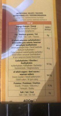The multifruit - Voedingswaarden