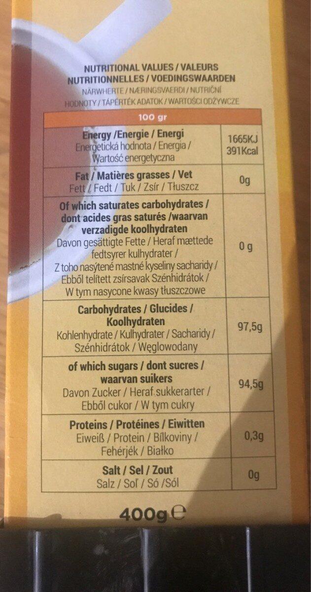 The multifruit - Voedingswaarden - fr