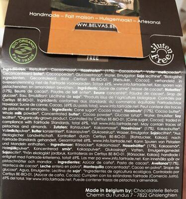Praline Truffels - Inhaltsstoffe - fr