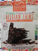 Oganic Belgian Chocolate- Belgian thins - Product - en