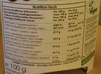 Dunkle Schockotrüffel, Vegan, Glutenfrei - Ingrédients
