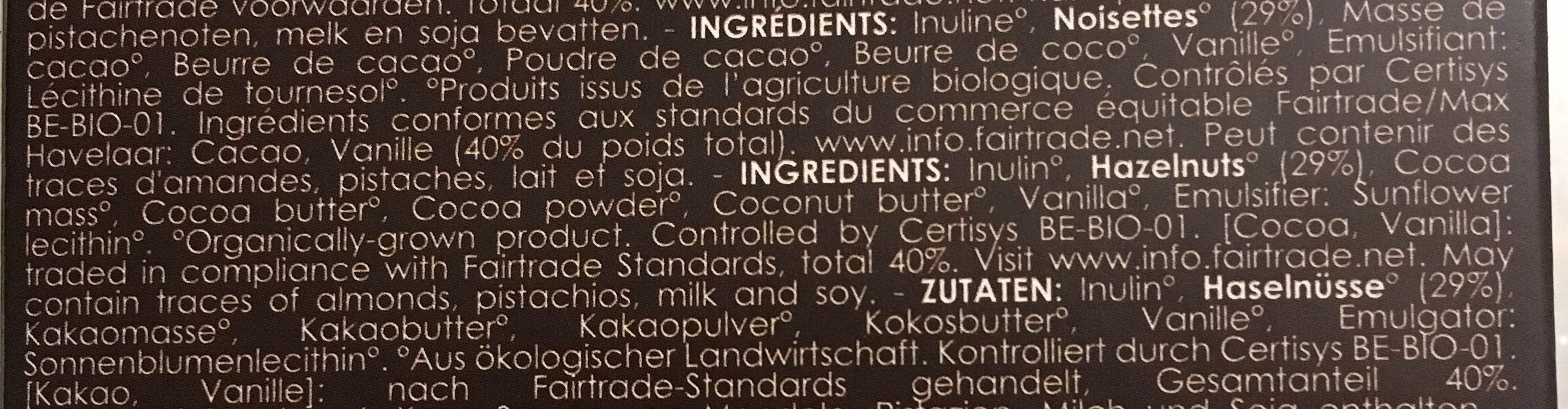 Truffes - Ingredients - fr