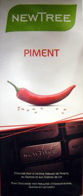 Chocolat Piment NewTree - Producto