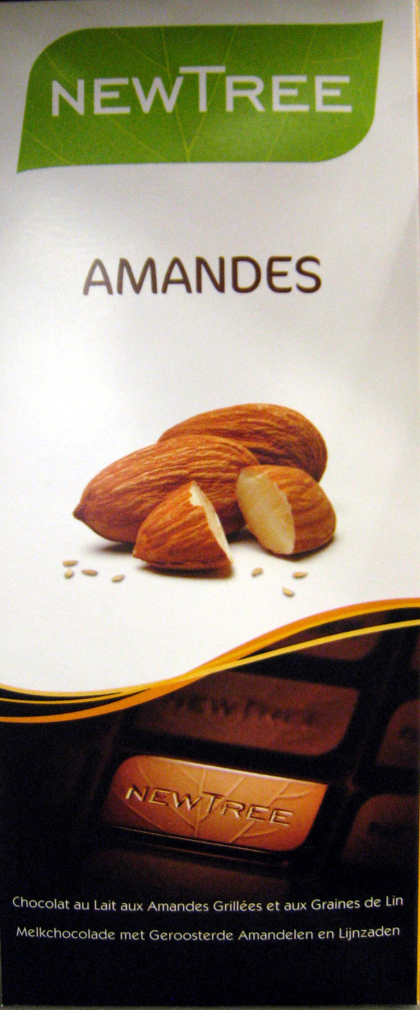 Chocolat Amandes NewTree - Produit - fr