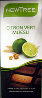Chocolat Citron vert muesli - Produit