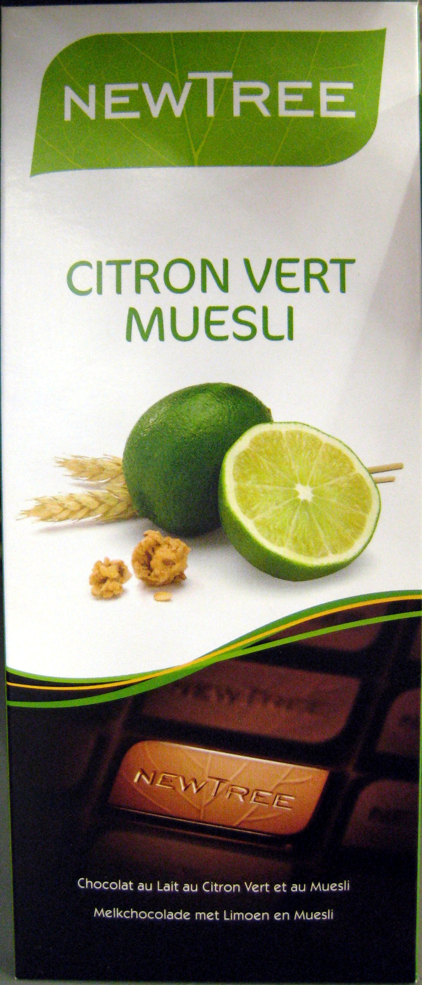 Chocolat Citron vert muesli - Producto