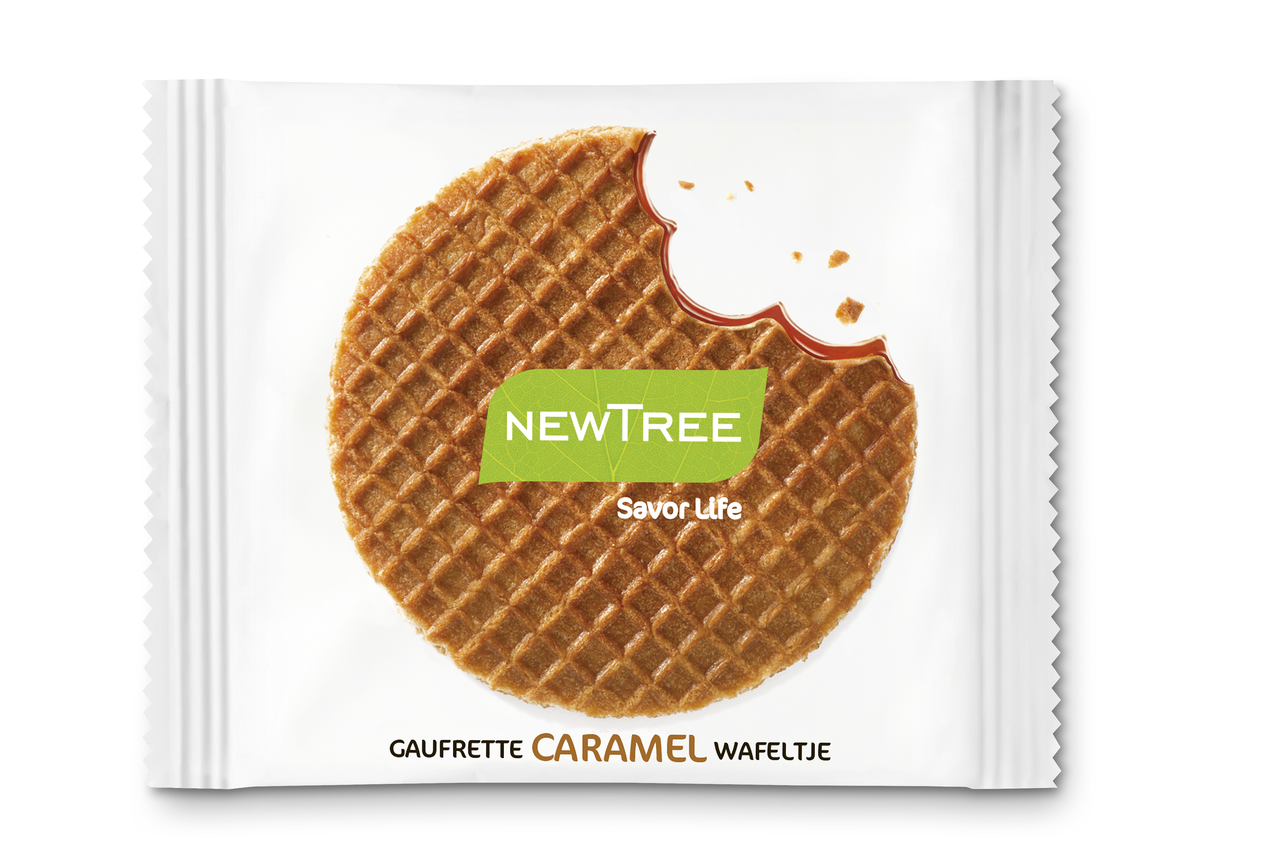 Gaufrette Caremel NewTree - Produit - fr