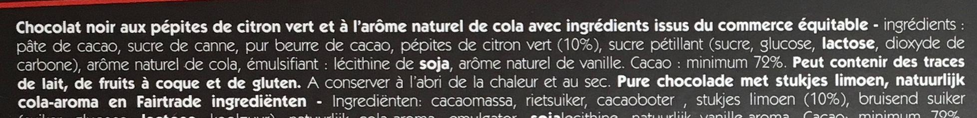 Kola pétillant - Ingrédients - fr