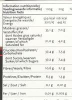 Kola pétillant - Informations nutritionnelles - fr