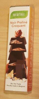 Barre Chocolat Noir Praliné Croquant - Produit - fr