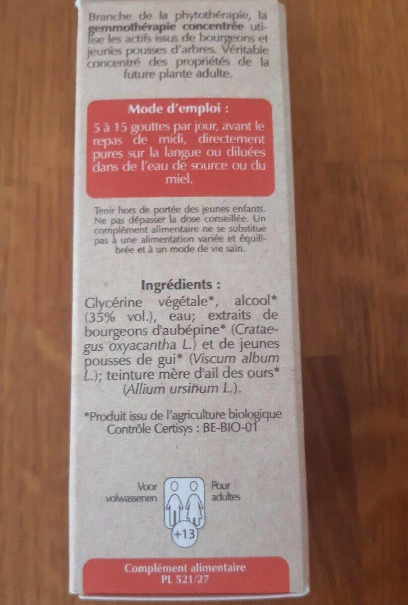 Cordiagem GC40 BIO - Informations nutritionnelles - fr