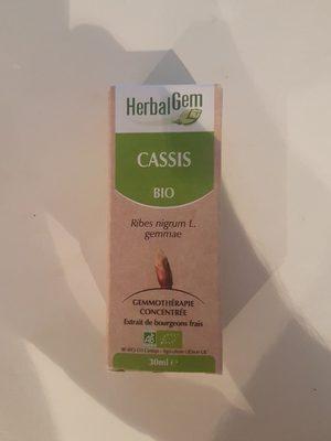 Cassis Bourgeons Macerat Bio Herbalgelm - Ingrédients