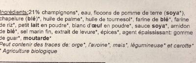 Champignonburger (6) - Ingrediënten