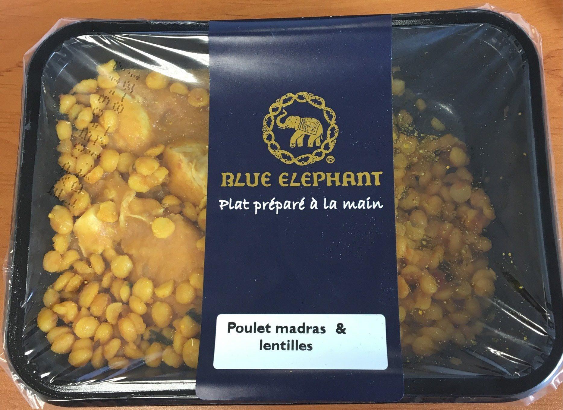 Poulet madras & lentilles - Produit - fr