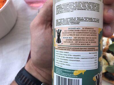 Vinaigrette Au Miel - Voedingswaarden - fr
