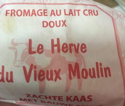 Le Herve du Vieux Moulin - Product - fr