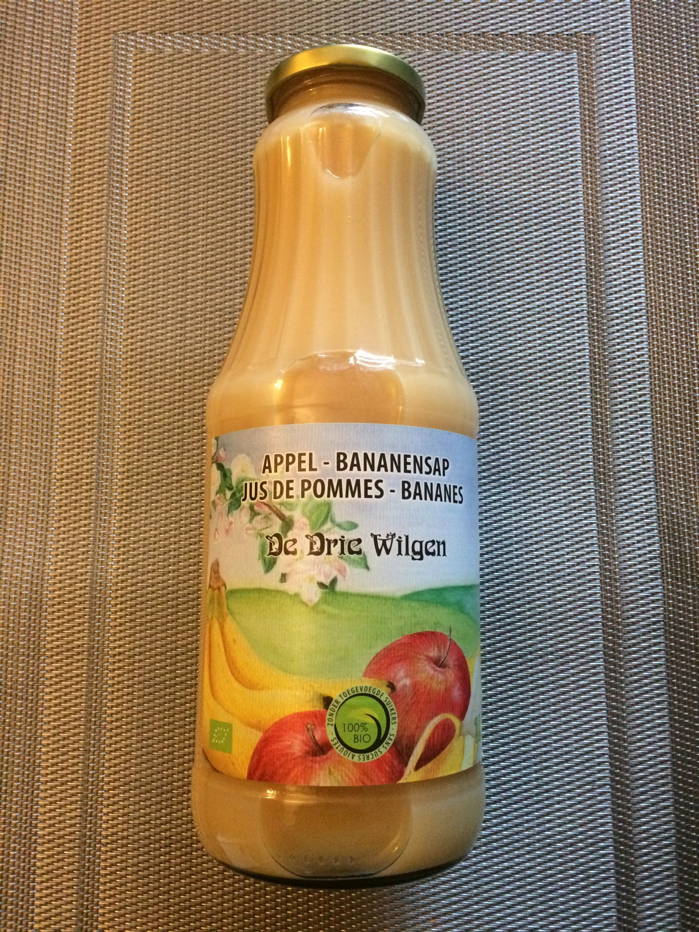 Jus de pommes - bananes - Product - fr
