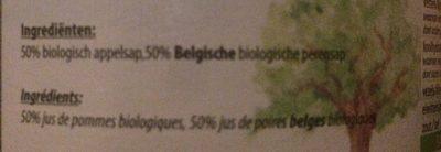 Jus De Pomme Poire (1 L) - Ingrediënten - fr