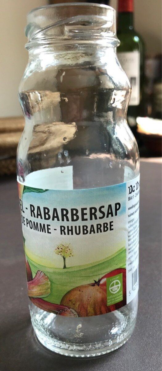 Jus de pomme rhubarbe - Produit - fr