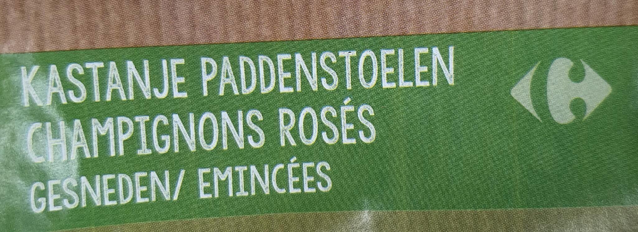 Champignons rosés émincés - Product - fr