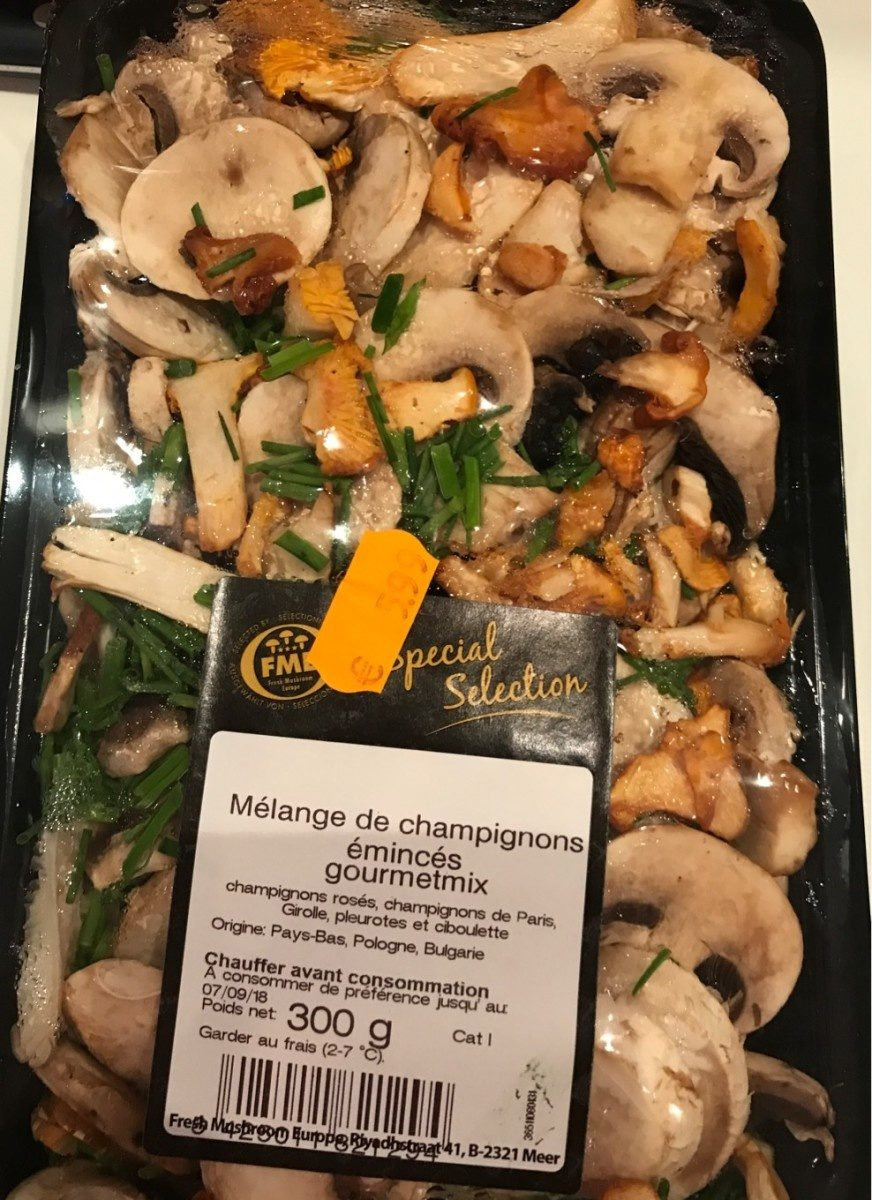 Melange De Champignons Eminces Gourmetmix 300 G