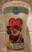 Soupe de patate douce aux lentilles rouges et lait de coco - Product