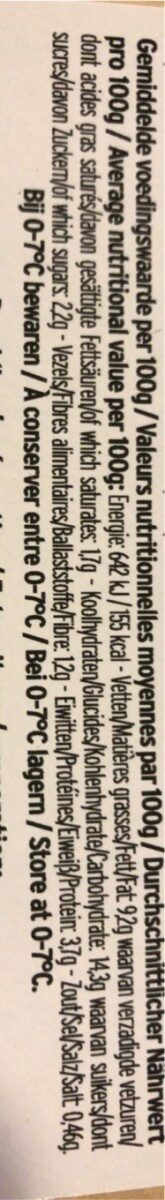 Penne Arrabiata - Voedingswaarden - nl
