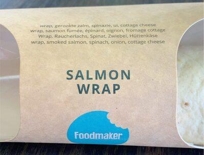 Salmon wrap - Product - fr