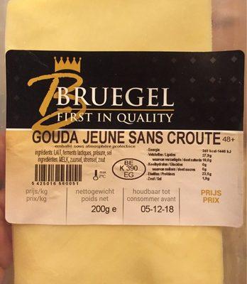 Gouda Jeune sans croute - Product - en
