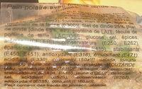 POLAIRE DINDE - Ingrédients - fr