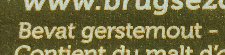 Brugse Zot - Ingrediënten - nl