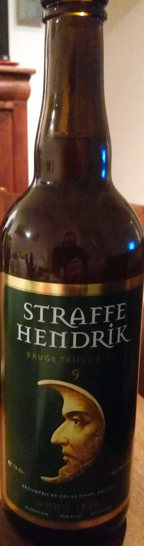 Straffe Hendrik Brugse Tripel Bier - Product - fr