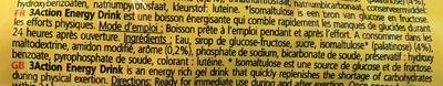 Energy drink - Ingrediënten