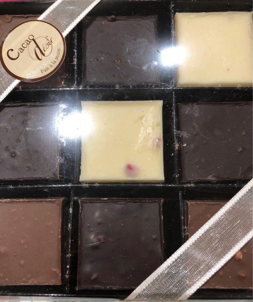 Les carrés - Product