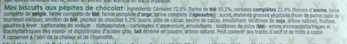 Friends Cookies - Ingrediënten - fr